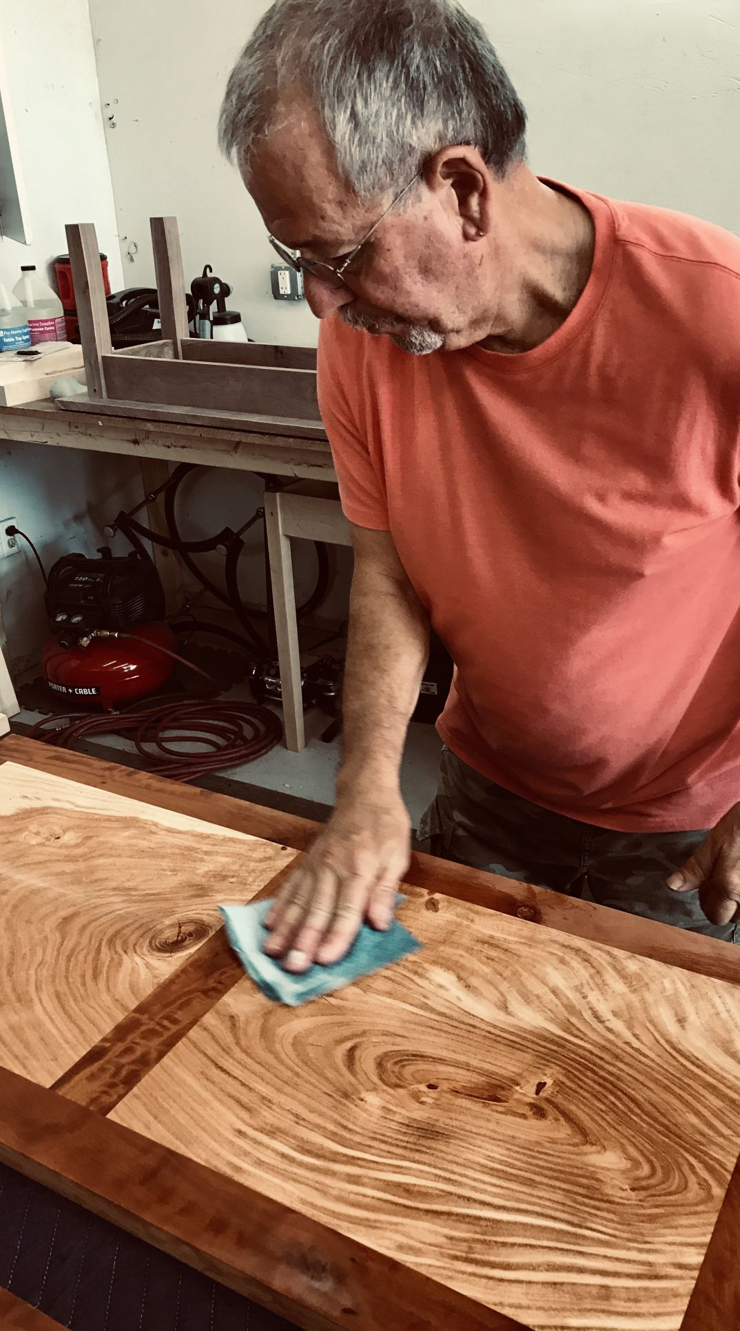 Frank woodworking