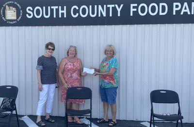 Sawgrass donated to South County Food Pantry
