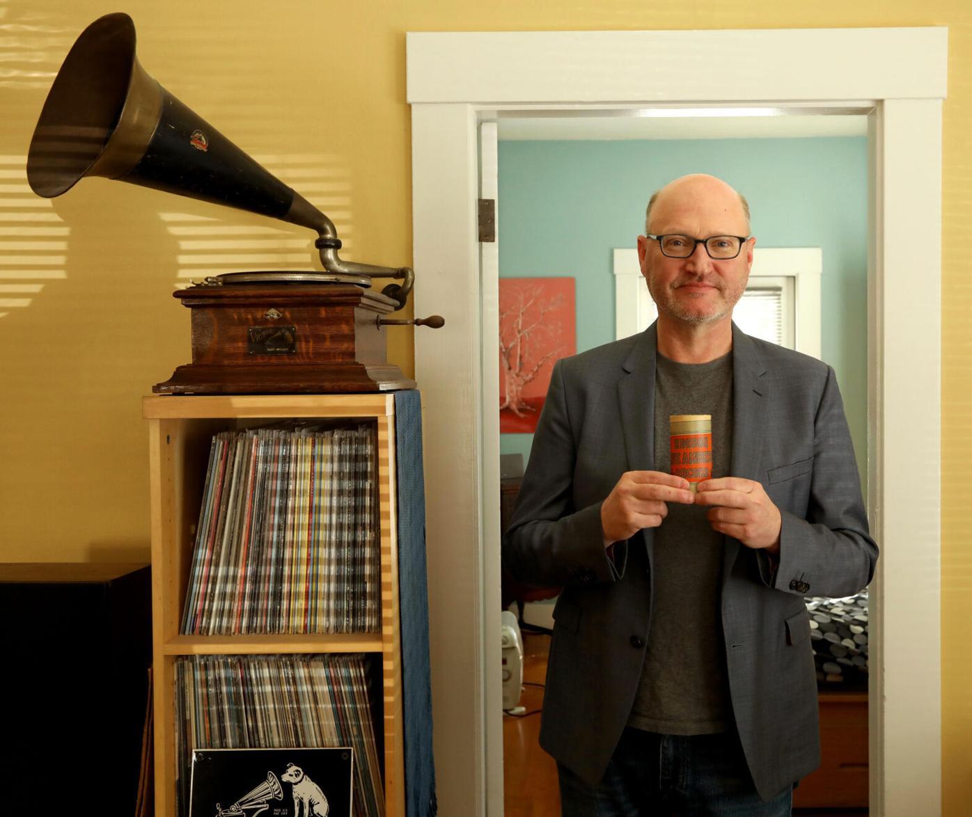 David Seubert, curator for Performing Arts Collection