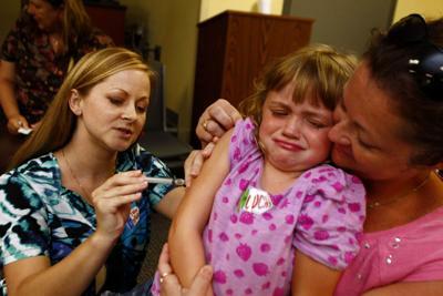 Highlands flu shot file photo