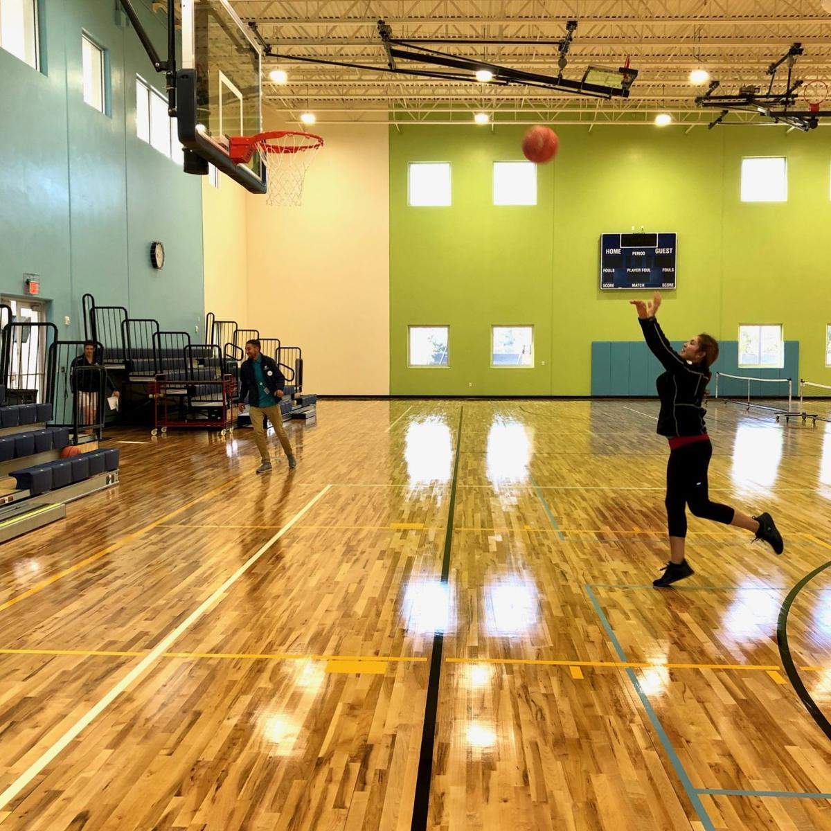 North Charlotte County Recreation Center gym