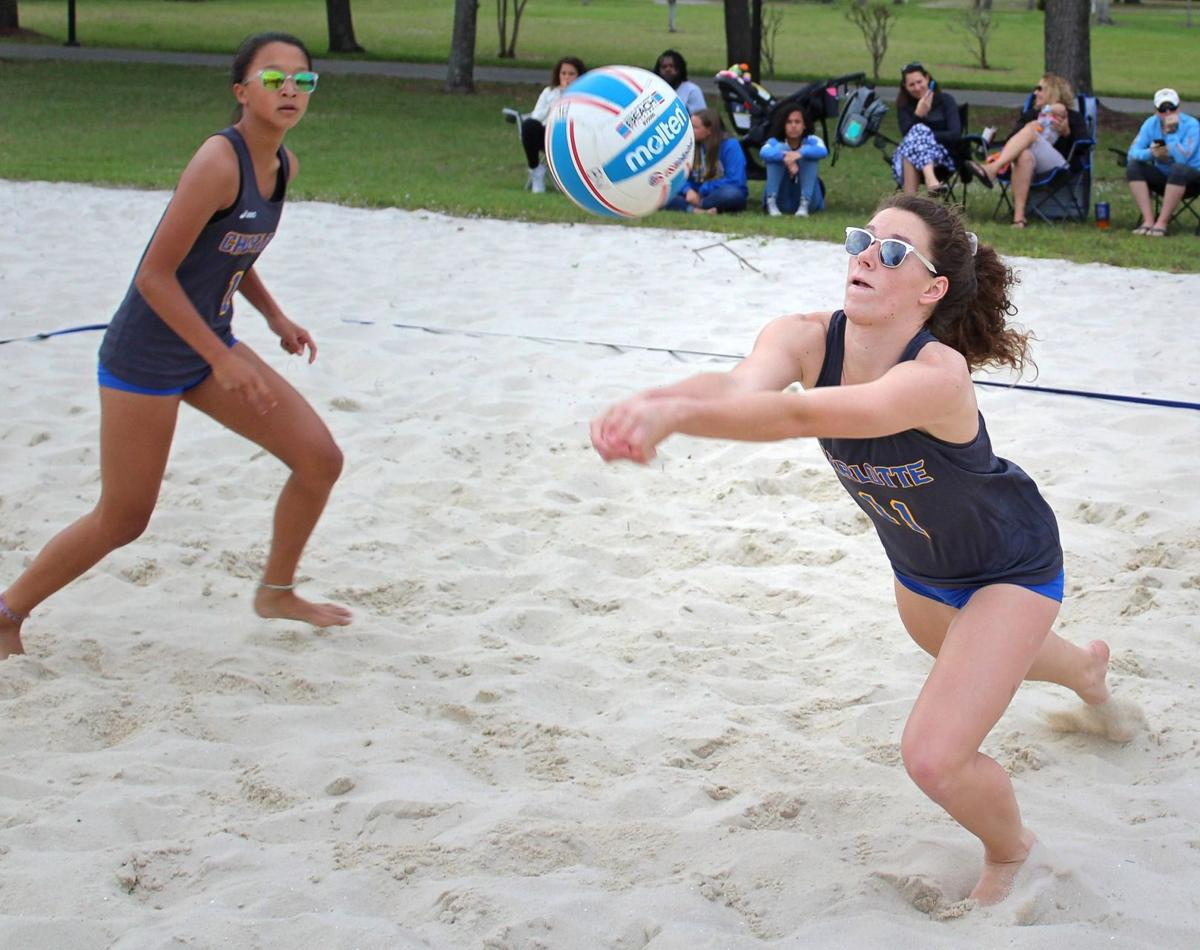 Beach volleyball season opens with loss