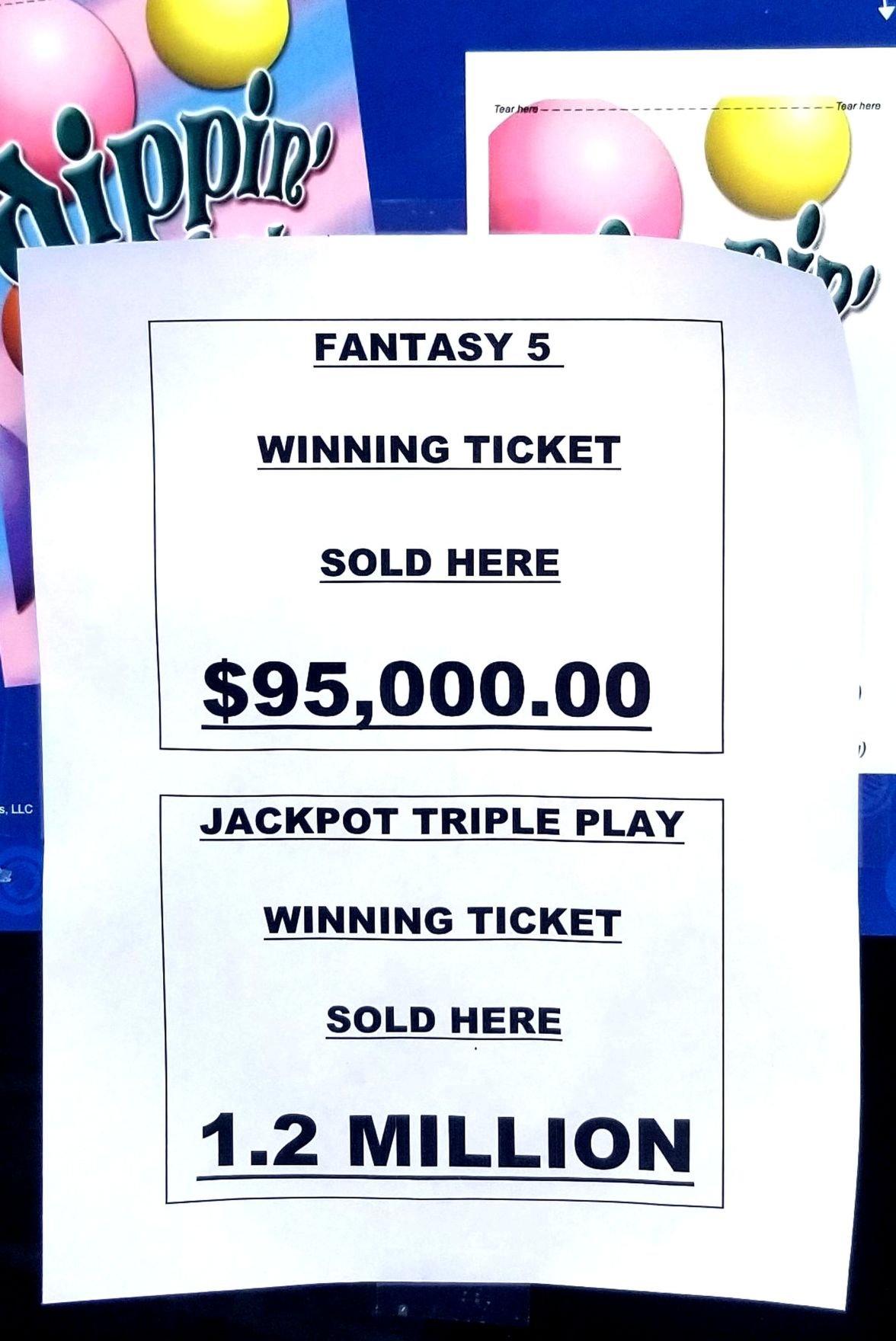 Fl lottery jackpot triple play