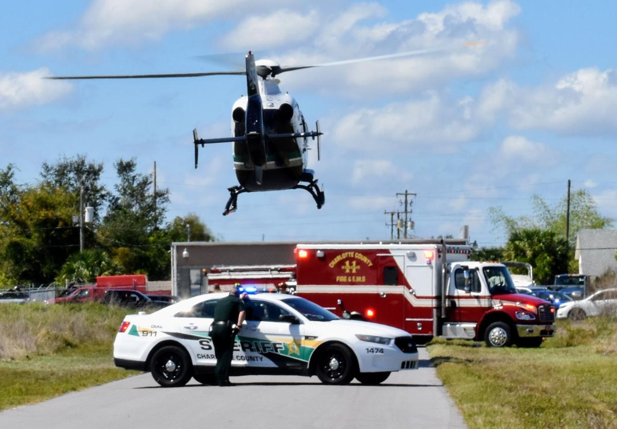 Airlift with EMS