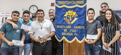 K of C scholarships awarded