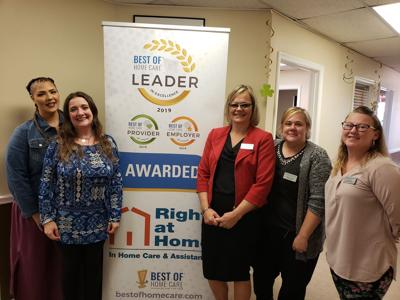 Best of Home Care wins Leader In Excellence Award