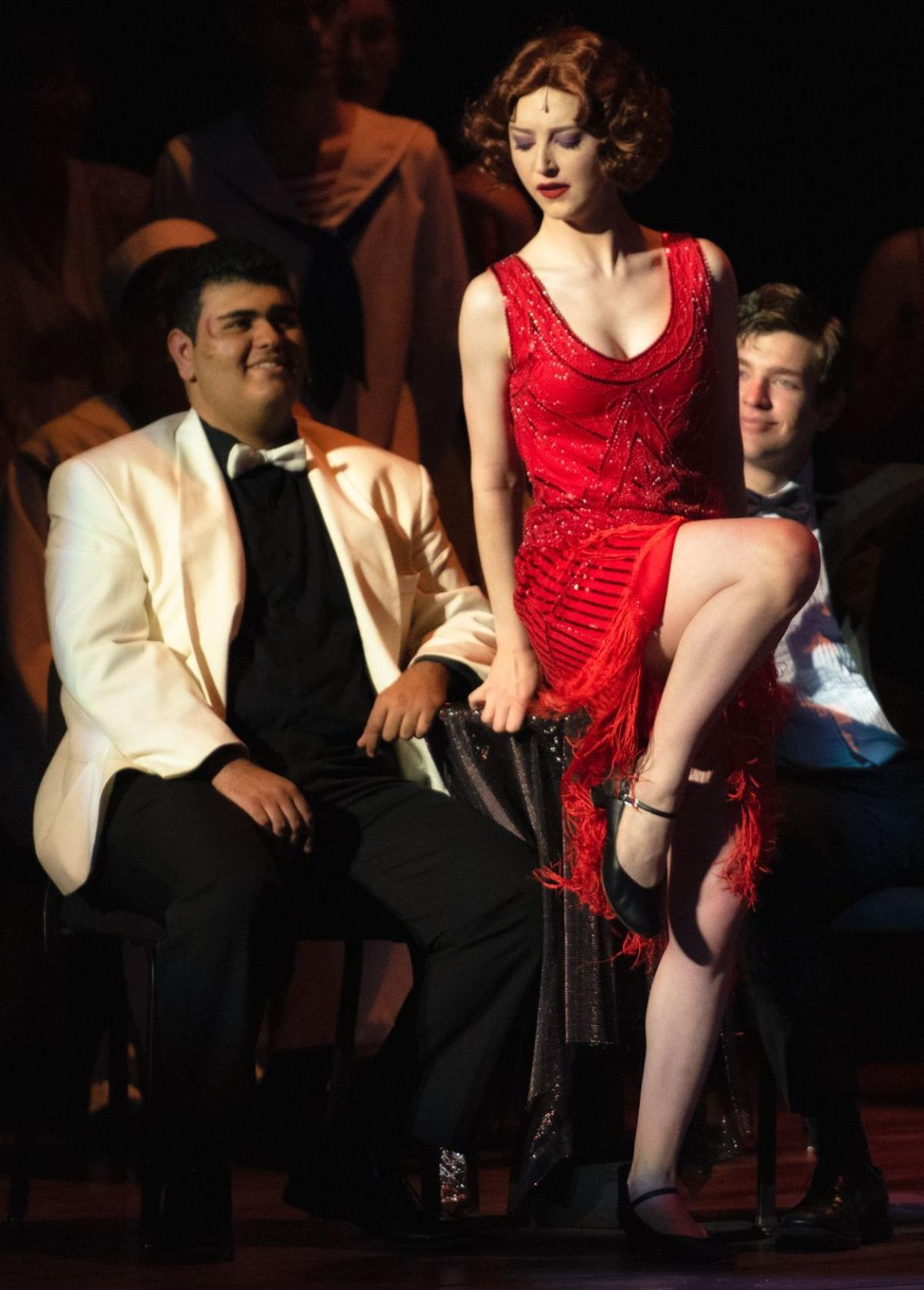 CHS performs 'Anything Goes'