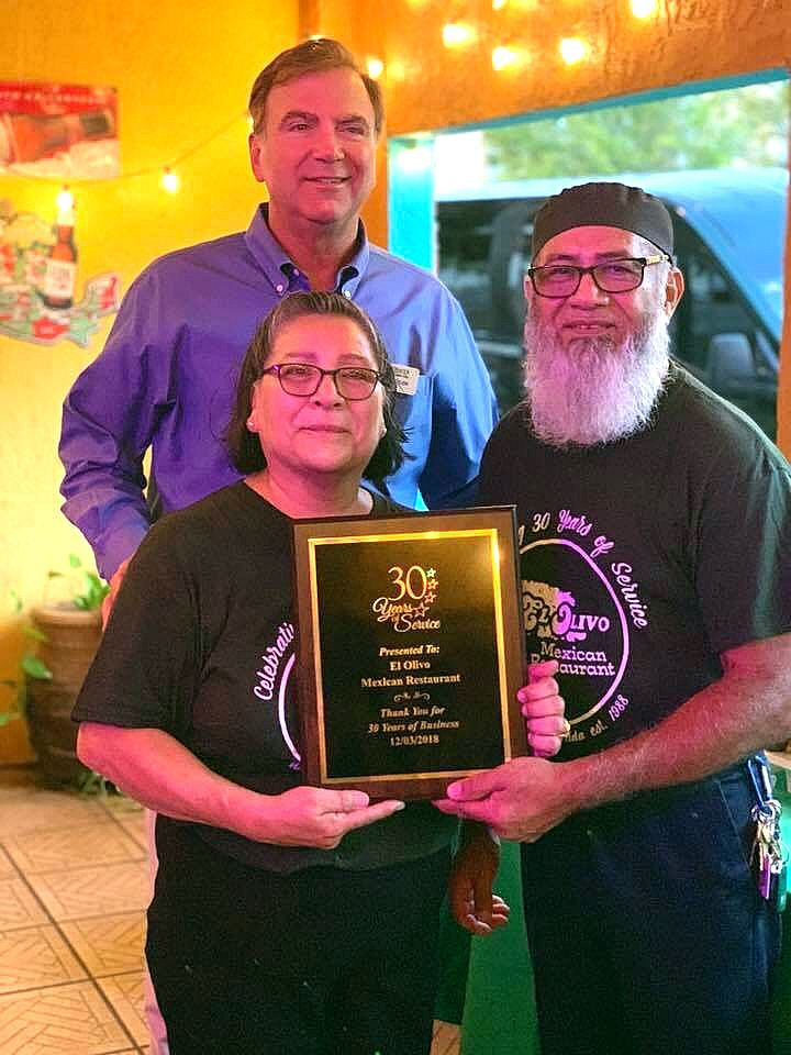 El Olivo Mexican Restaurant celebrates 30 years