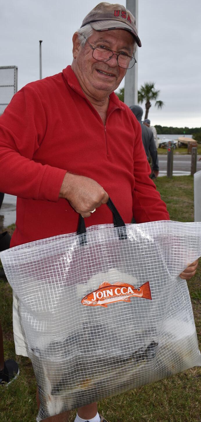 Punta Gorda resident Bill Hopkins, volunteer and CCA member