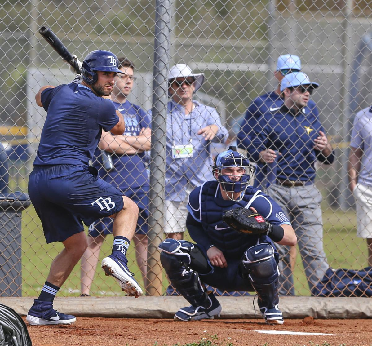 Rays Pitchers and Cathers