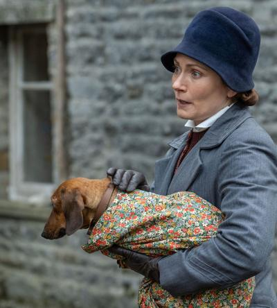 Anna Madeley plays the housekeeper
