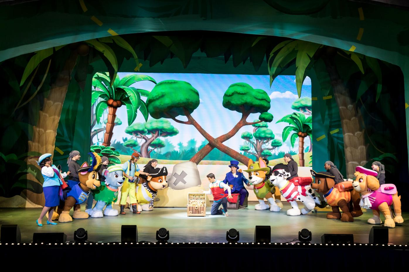 The PAW Patrol embark on a pirate-themed adventure to uncover hidden treasure