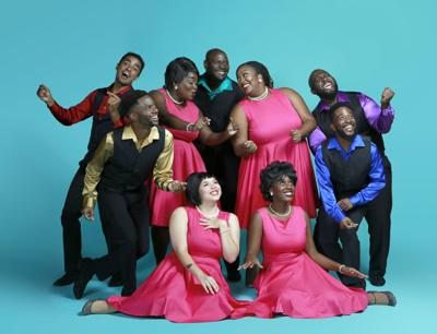 Westcoast Black Theatre Troupe entertainers