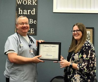 Patrick Carey Cornerstone nurse graduate photo