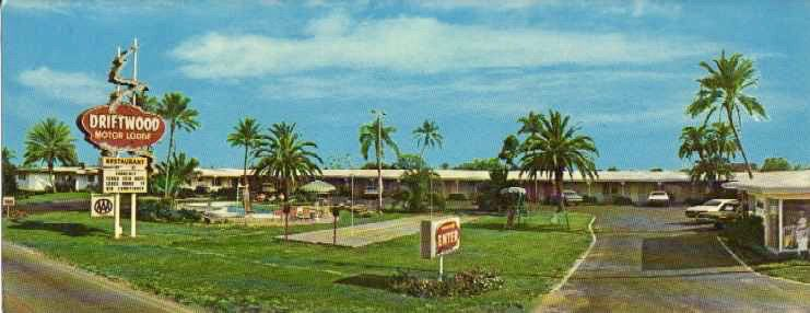 When the Streets were lined with ... MOTELS!