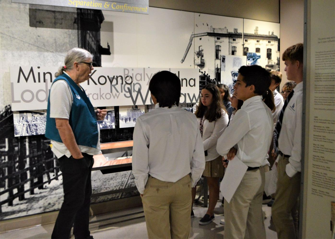 Learning lessons of hope at the Florida Holocaust Museum