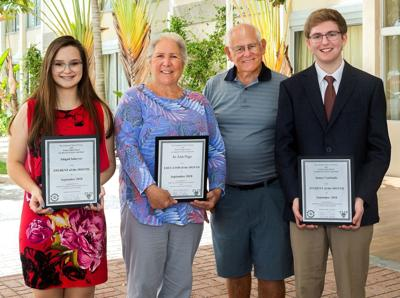 Students and Educator of the Month named