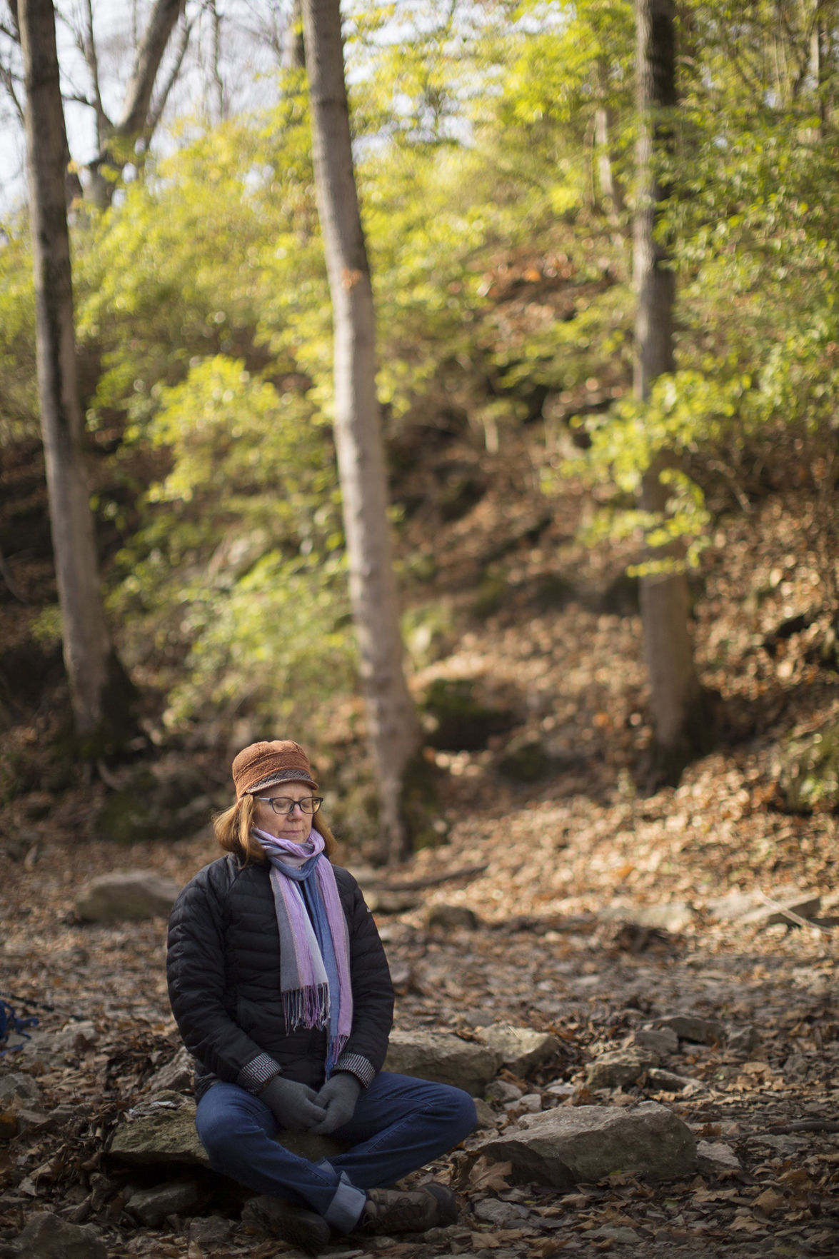 'Forest bathing' walks encourage deep connection to nature
