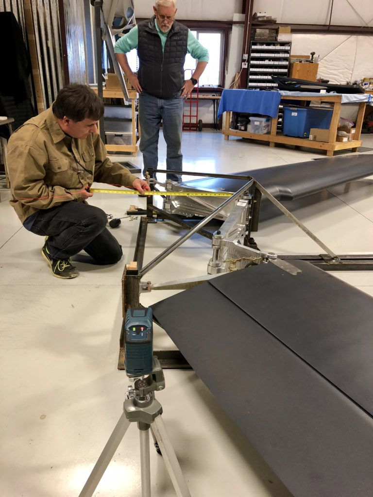 Switchblade wing retraction system