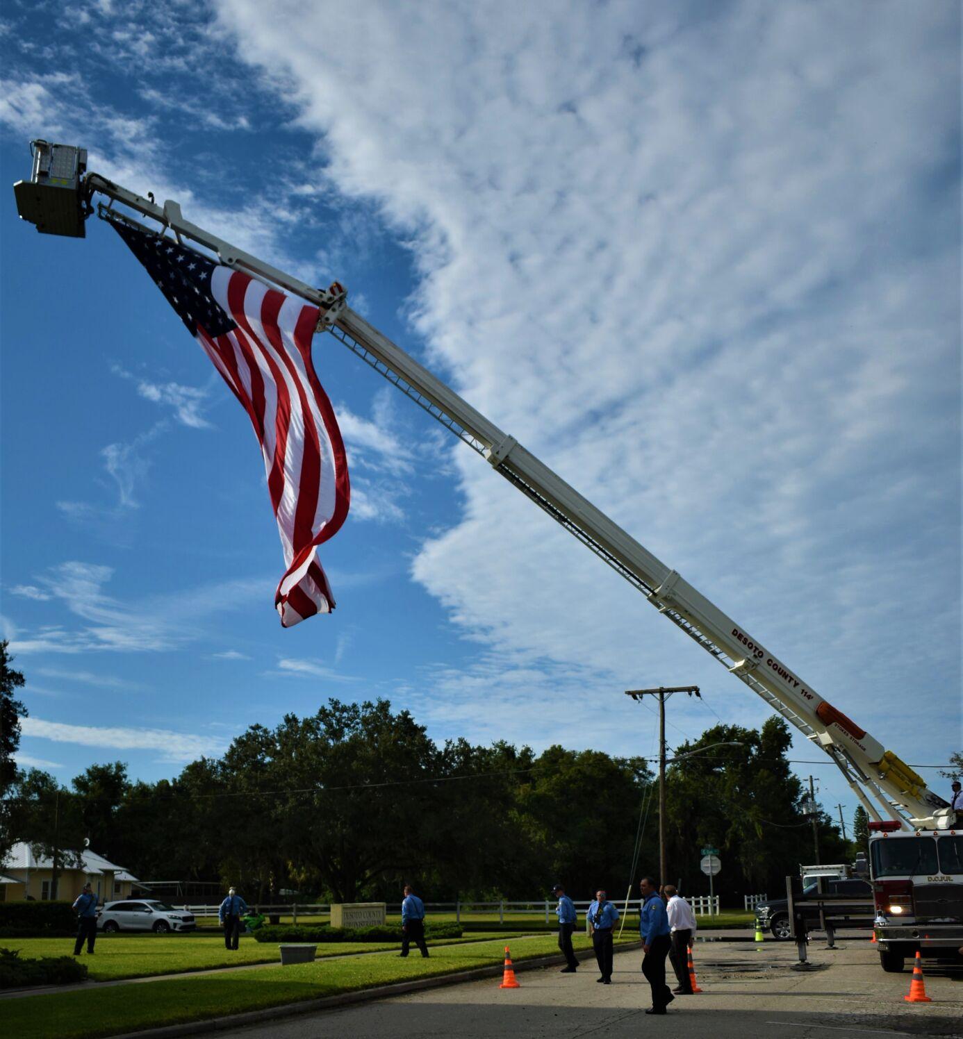 9/11 ceremony in Arcadia