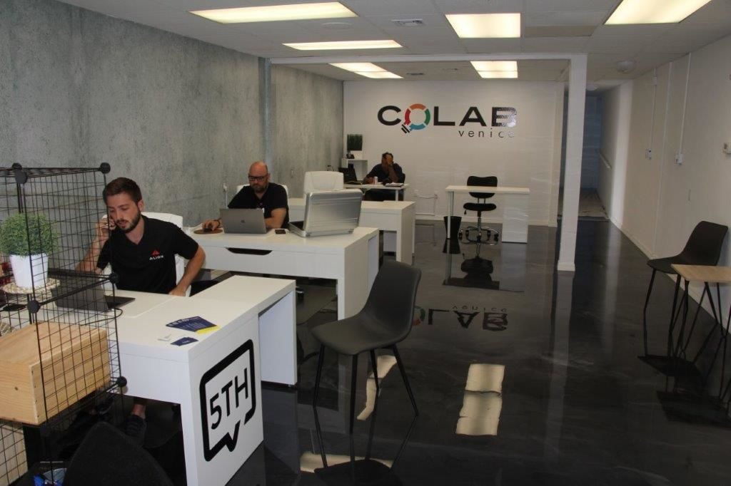 COLAB shared space