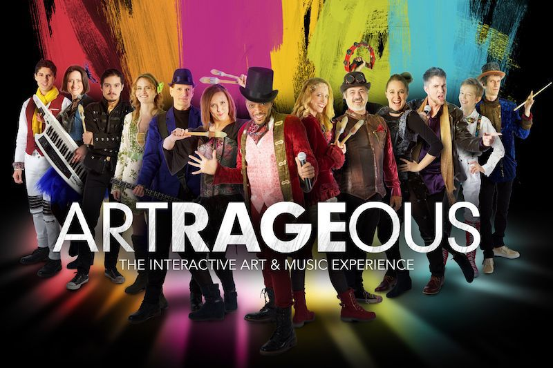 They're Artrageous: Be inspired and join in the fun
