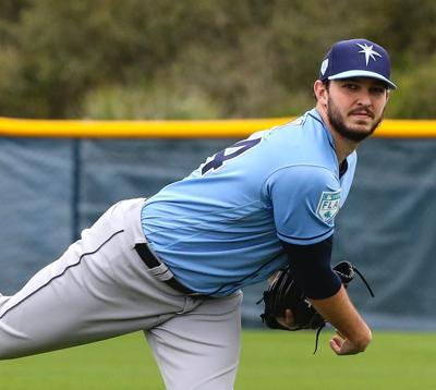Tampa Bay Rays pitchers and catchers