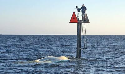 boat sunk