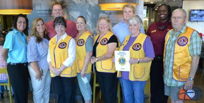Lions helping others, Arcadia McDonald's thanks them