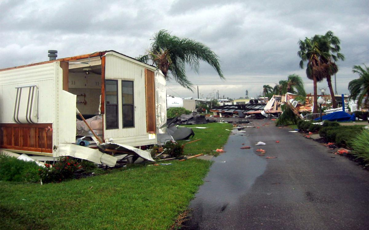 Mobile home parks are vulnerable during hurricanes