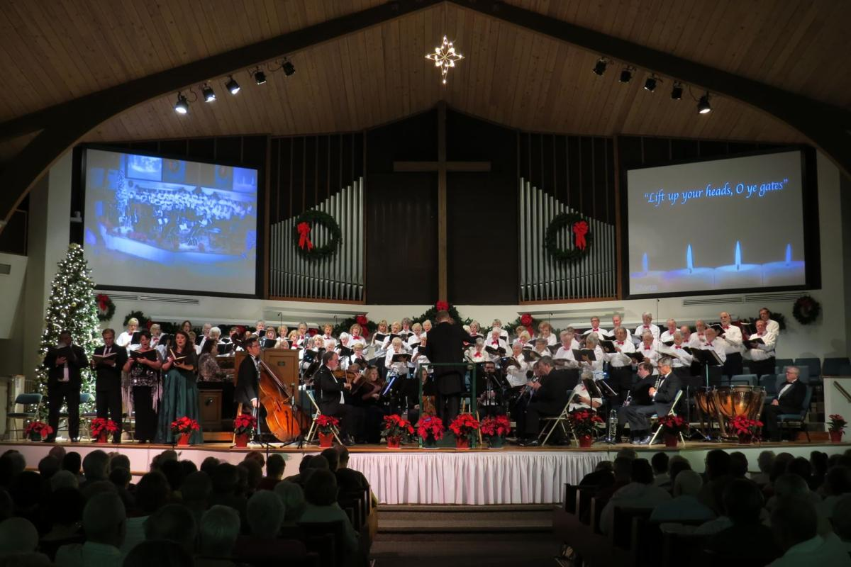 Renowned conductor Robert Romanski will lead the Englewood United Methodist Church Chancel Choir in the Christmas portion of Handel's 'Messiah'