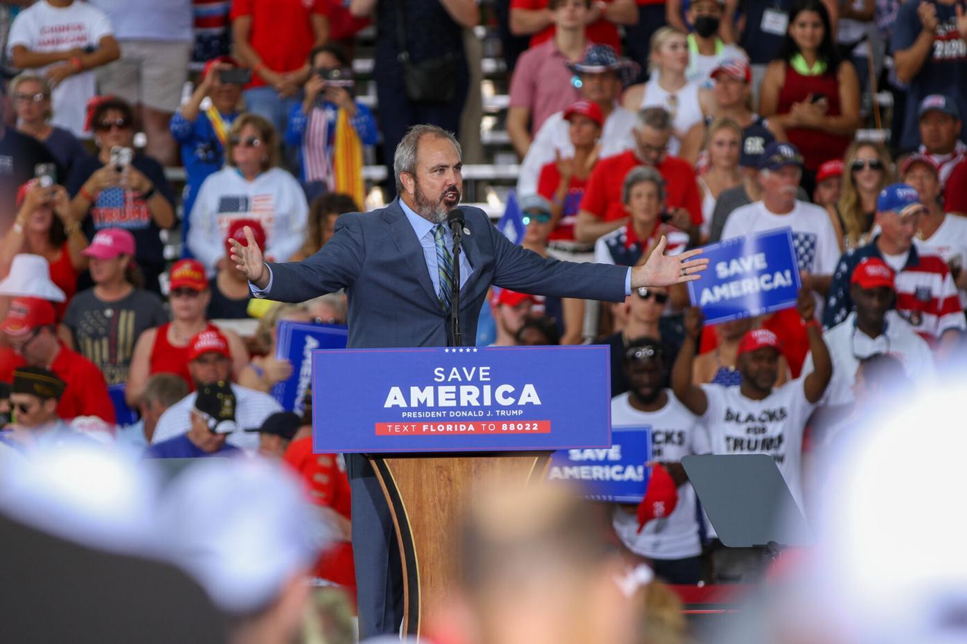 Sarasota Trump Save America rally