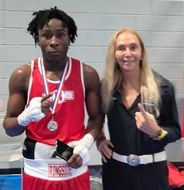 A contender with North Port Mayor Jill Luke