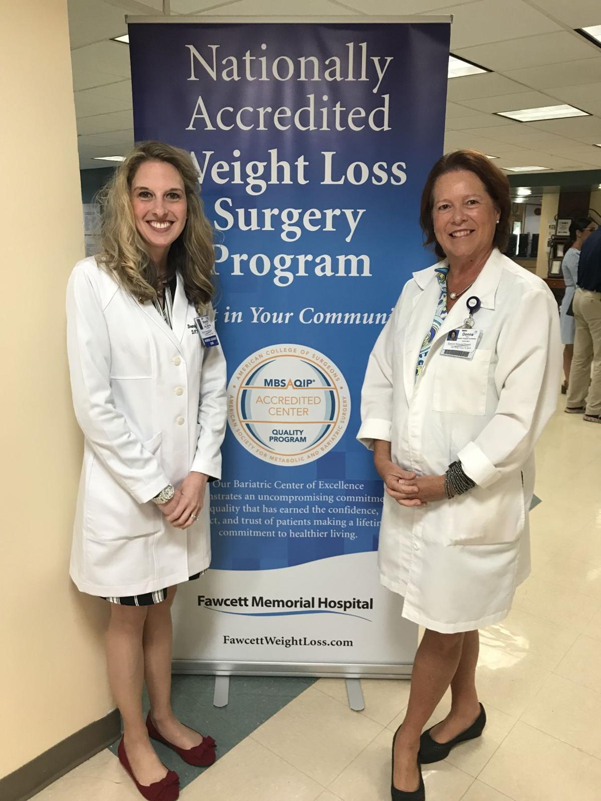 Fawcett Memorial Hospital Celebrates Weight Loss Surgery