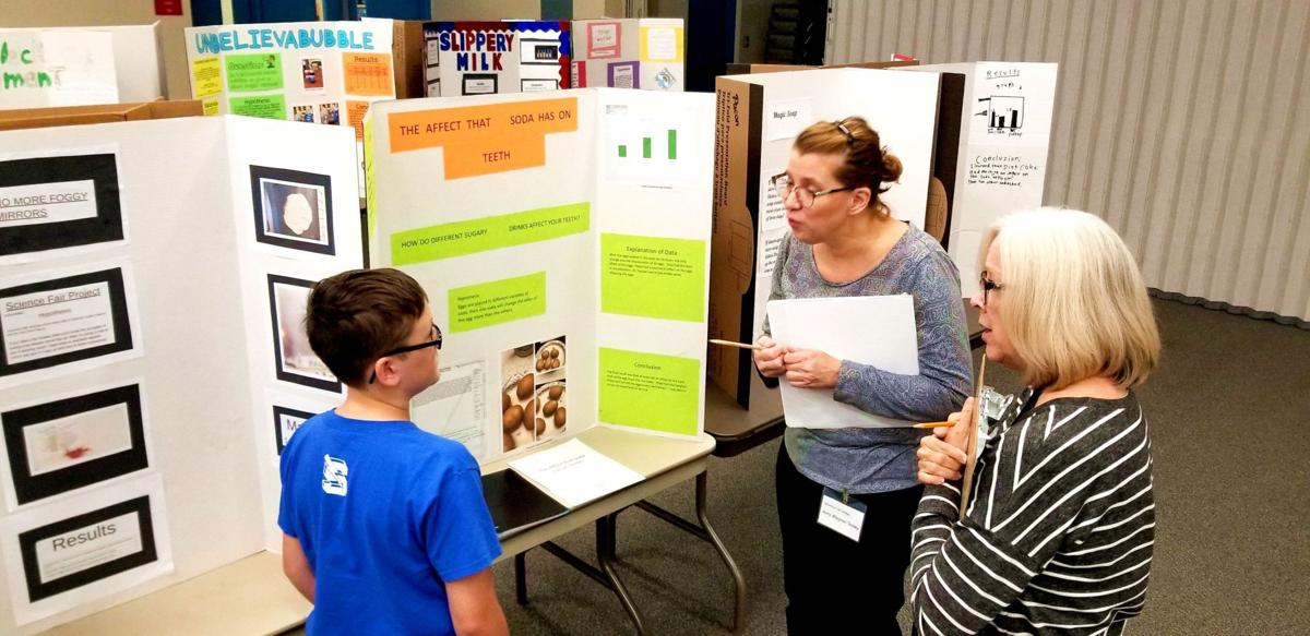 students display inquisitive nature in science fair