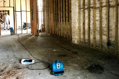 Brickell Building cleanup