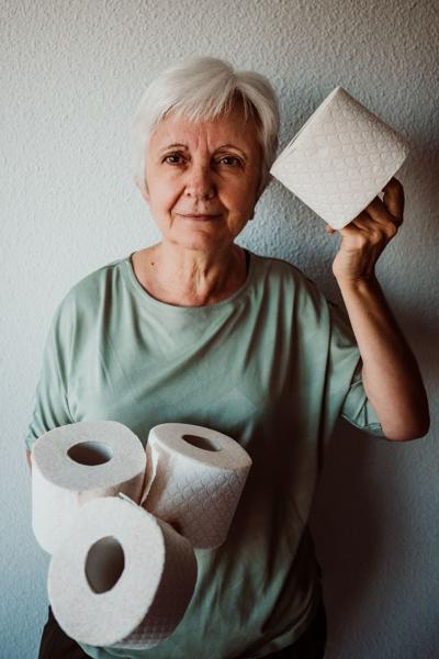 Stockpiling toilet paper, food gives people a feeling of control in a situation that's out of their control