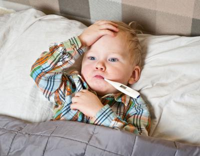 The flu is out in force. And so far this season, it's been hitting children the hardest
