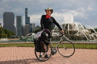 A Chicago writer traveled across COVID country USA, following the fabled Route 66. On his bicycle