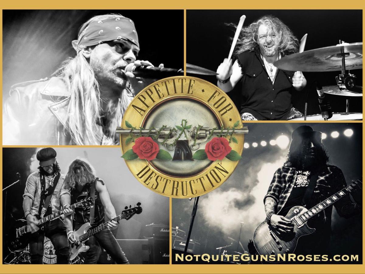 Satisfying appetites for Guns N' Roses