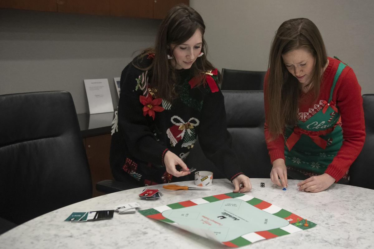 Countdown to Christmas board game