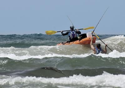 kayak waves