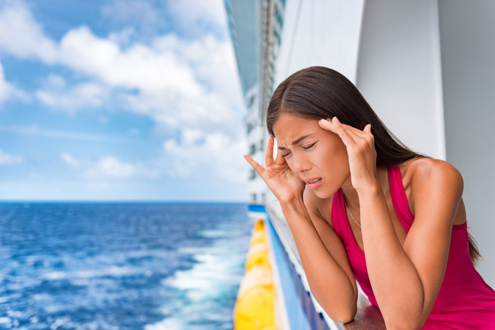 Getting sick on a cruise