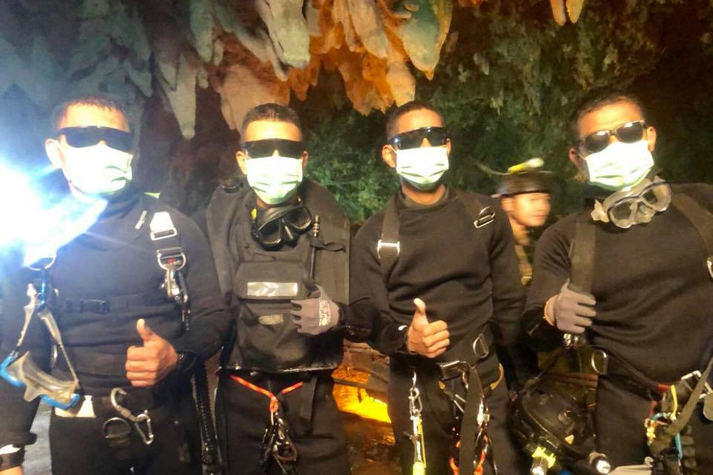 Royal Thai Navy SEAL divers
