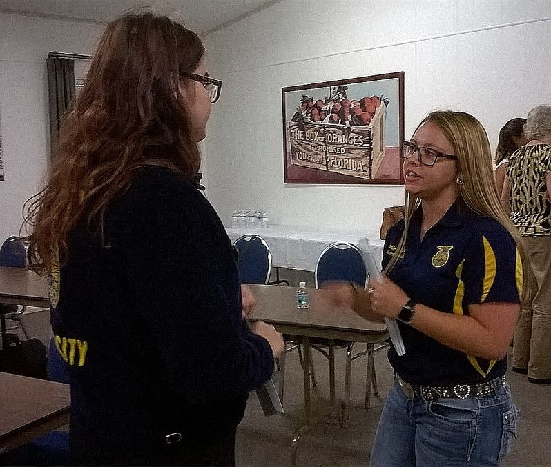 Past state speech champion on hand at annual county event