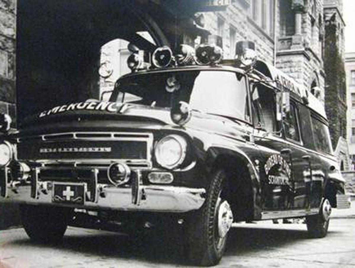 1975 International Tavelall Ambulance