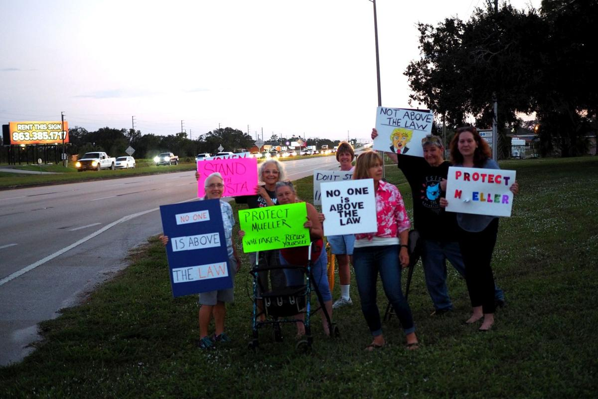 Protest at Ag Center