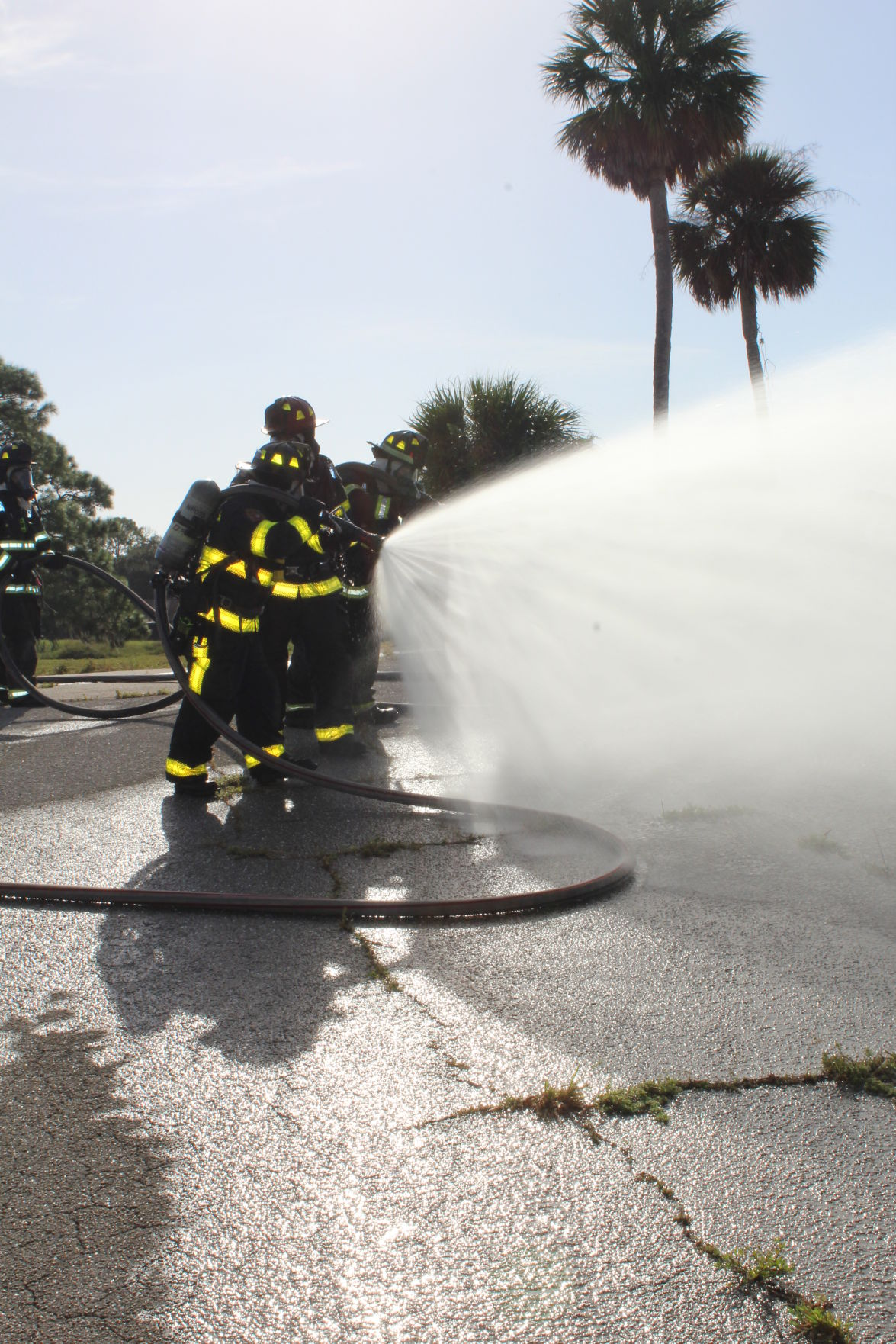 North Port fire training day
