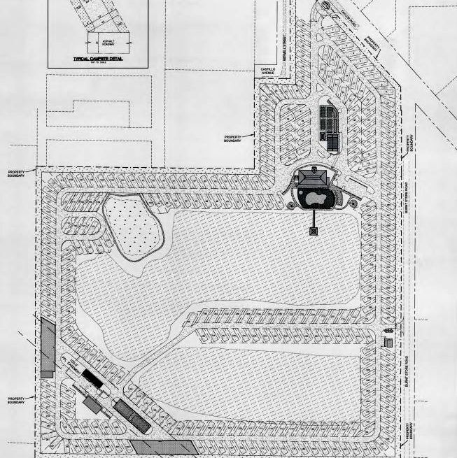 RV park layout Burnt Store Road
