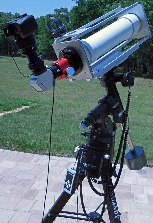 Homemade astronomy, imagination to view the heavens, Victor